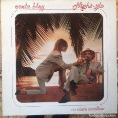 Discos de vinilo: CARLA BLEY Y STEVE SWALLOW - NIGHT-GLO - LP - 1985 WATT/ECM - WATT 16 827640-1 EDICIÓN ALEMANA.. Lote 182702082