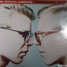Discos de vinilo: THE PROCLAIMERS THIS IS THE STORY. Lote 182702221
