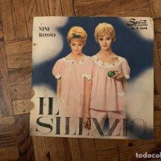 Discos de vinilo: NINI ROSSO – IL SILENZIO SELLO: SPRINT – SP. A 5544 FORMATO: VINYL, 7 , 45 RPM, SINGLE PAÍS: ITAL. Lote 182704671