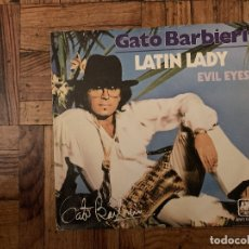 Discos de vinilo: GATO BARBIERI ‎– LATIN LADY SELLO: A&M RECORDS ‎– AMS 6862 FORMATO: VINYL, 7 , 45 RPM, SINGLE . Lote 182704822
