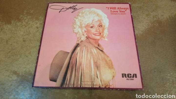 Discos de vinilo: Dolly parton. I will always love you. Single vinilo. - Foto 2 - 182705351