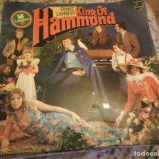 Discos de vinilo: FRANZ LAMBERT – KING OF HAMMOND,1974,2 LPS. Lote 182711008