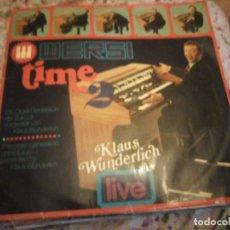 Discos de vinilo: KLAUS WUNDERLICH -WERSI TIME 2-DIE ORGEL-GENERATION DER ZUKUNFT VORGESTELLT VON KLAUS WUNDERLICH,. Lote 182711500