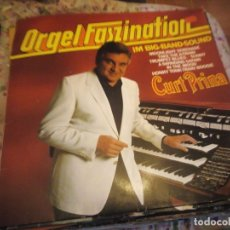 Discos de vinilo: CURT PRINA ‎– ORGEL FASZINATION IM BIG-BAND-SOUND,1980. Lote 182712080