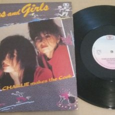 Discos de vinilo: CHARLIE MAKES THE COOK / BOYS AND GIRLS / MAXI-SINGLE 12 INCH. Lote 182713935