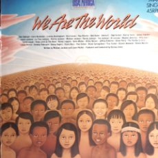 Discos de vinilo: USA FOR AFRICA-WE ARE THE WORLD. Lote 182714555