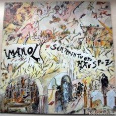 Discos de vinilo: IMANOL SENTIMENTUEN HAUSPOZ LP CARPETA DOBLE CON INSERTO 1979. Lote 182716042