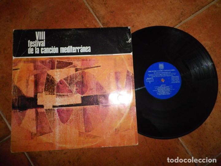 VIII FESTIVAL DE LA CANCION MEDITERRANEA LP VINILO 1966 DUO DINAMICO BRUNO LOMAS ALBERTO CORTEZ TVE (Música - Discos - LP Vinilo - Otros Festivales de la Canción)