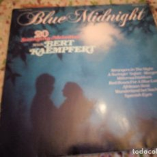 Discos de vinilo: BLUE MIDNIGHT 20 SWINGING MELODIES. Lote 182719568