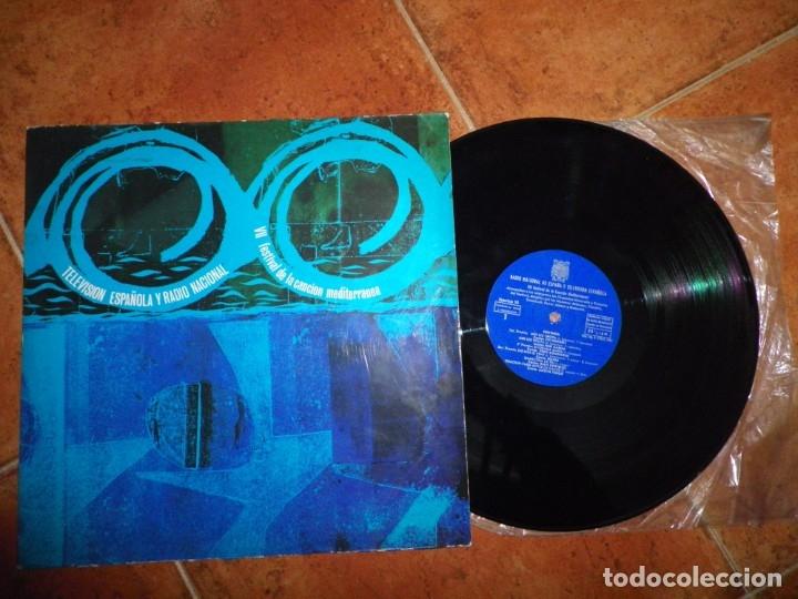 VII FESTIVAL DE LA CANCION MEDITERRANEA LP VINILO 1965 DUO DINAMICO GIAN COSTELLO MARIA TVE RNE (Música - Discos - LP Vinilo - Otros Festivales de la Canción)