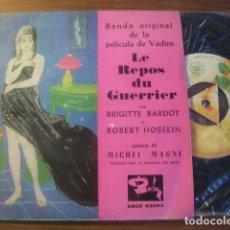 Discos de vinilo: MICHEL MAGNE - LE REPOS DU GUERRIER + 3 *** MEGA RARO EP ESPAÑOL 1962 GRAN ESTADO. Lote 182722506