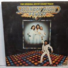 Discos de vinilo: DOBLE LP-SATURDAY NIGHT FEVER- EN FUNDA ORIGINAL 1977. Lote 182724178