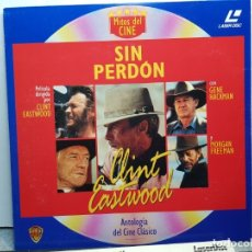 Discos de vinilo: LASER DISC-SIN PERDON- EN FUNDA ORIGINAL 1992. Lote 182724660
