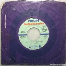 Discos de vinilo: PAUL & PAULA. HEY PAULA / SOMETHING OLD, SOMETHING NEW. DOUBLE HIT, USA 1963 RE. Lote 182726407