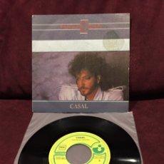 """Discos de vinilo: CASAL - PÁNICO EN EL EDÉN, SINGLE 7"""", 1984, ESPAÑA. Lote 182729978"""