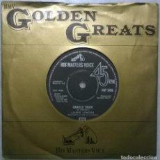 Discos de vinilo: LAURIE LONDON. CRADLE ROCK/ HE'S GOT THE WHOLE WORLD IN HIS HANDS. MASTER'S VOICE, UK 1957 SINGLE RE. Lote 182730845