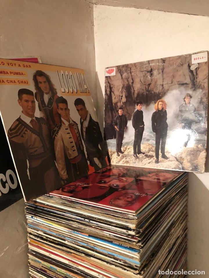 LOTE DE DISCOS DE VINILO (Música - Discos de Vinilo - Maxi Singles - Otros estilos)
