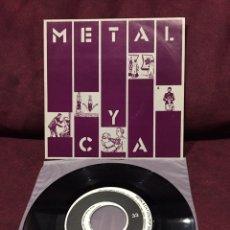 """Discos de vinilo: METAL Y CA. - VELOCIDAD, SINGLE 7"""", 1983, ESPAÑA, OPORTUNIDAD!!. Lote 182736786"""