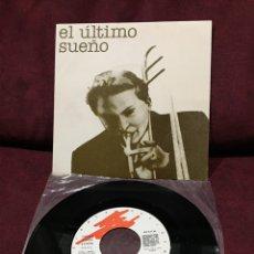 """Discos de vinilo: EL ÚLTIMO SUEÑO - EL SILENCIO DE LOS CISNES, SINGLE 7"""", 1984, ESPAÑA, RARO!!!, OPORTUNIDAD ÚNICA!!!. Lote 182737181"""