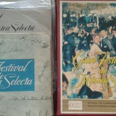 Discos de vinilo: ALBUM DE DOCE VINILOS. Lote 182739536