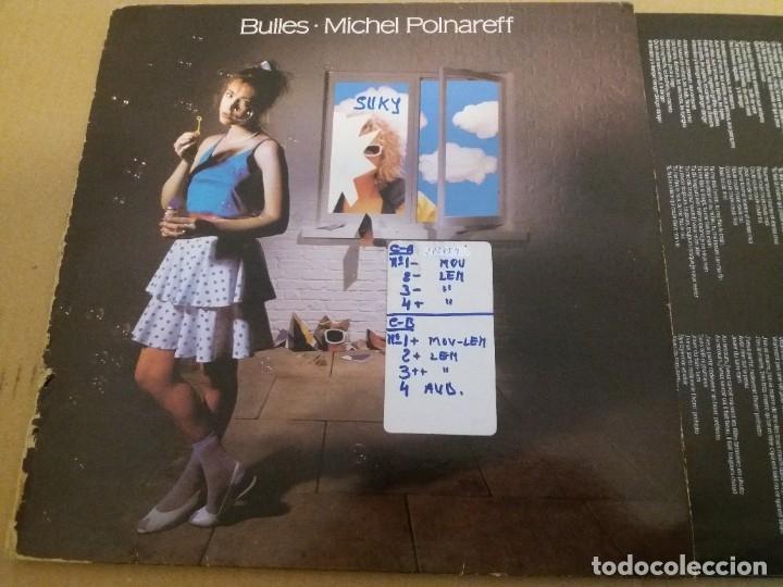 Discos de vinilo: MICHEL POLNAREFF / BULLES / LP - Foto 2 - 182743031