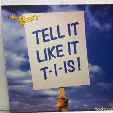 Discos de vinilo: LP-B-52'S- TELL IT LIKE IT EN FUNDA ORIGINAL 1992. Lote 182745192