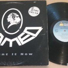 Discos de vinilo: CAMEO / I WANT IT NOW / MAXI-SINGLE 12 INCH. Lote 182745785