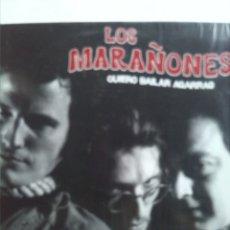 Discos de vinilo: LOS MARAÑONES QUIERO BAILAR AGARRAO. Lote 182748600
