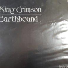 Discos de vinilo: KING CRIMSON EARTHBOUND. Lote 182755671