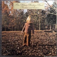 Discos de vinilo: THE ALLMAN BROTHERS BAND : BROTHERS AND SISTERS. Lote 182760735