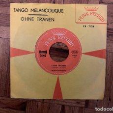 Discos de vinilo: OHNE TRANEN - TANGO MELANCOLIQUE - MONTEMATTI . Lote 182762033