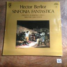 Discos de vinilo: HÉCTOR BERLIOZ SINFONÍA FANTÁSTICA. Lote 182762107