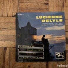 Discos de vinilo: LUCIENNE DELYLE ACCOMPAGNÉE PAR PAUL MAURIAT ET SON ORCHESTRE* – JE SUIS SEULE CE SOIR / SÉRÉNADE . Lote 182762915