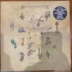 Discos de vinilo: BLANCMANGE – MANGE TOUT. DISCO VINILO. ENTREGA 24H. EN MUY BUEN ESTADO. Lote 182763822