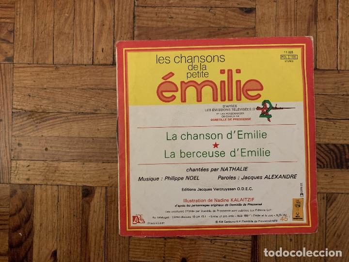 Discos de vinilo: Nathalie – Les Chansons De La Petite Émilie Sello: Le Petit Ménestrel – 11.028, Disques Adès – 11 - Foto 2 - 182763898