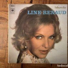 Discos de vinilo: LINE RENAUD ?– L'ALBUM D'OR SELLO: CBS ?– CBS 65337 FORMATO: VINYL, LP, GATEFOLD PAÍS: FRANCE . Lote 182769236
