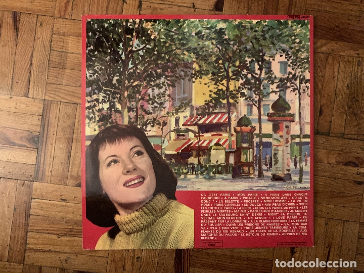Discos de vinilo: colette renard - Les plus grandes chansons de la vieille france et de paris.france - Foto 3 - 182769680