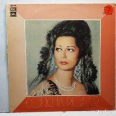 Discos de vinilo: LP-CONCHA PIQUER-LA OBRA DE EN FUNDA ORIGINAL 1975. Lote 182771818