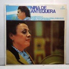 Discos de vinilo: LP-NIÑA DE ANTEQUERA- EN FUNDA ORIGINAL 1971. Lote 182772786