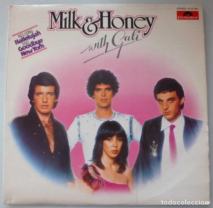 Discos de vinilo: MILK & HONEY WITH GALI (LP POLYDOR 1979 ESPAÑA) EUROVISION - Foto 1 - 182773077