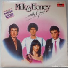 Discos de vinilo: MILK & HONEY WITH GALI (LP POLYDOR 1979 ESPAÑA) EUROVISION. Lote 182773077