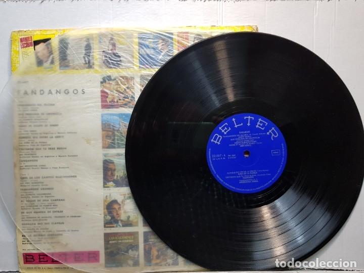 Discos de vinilo: LP-FANDANGOS- en funda original 1967 - Foto 3 - 182773150