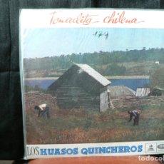 Discos de vinilo: TONALITA CHILENA DE LOS HUANSOS QUINCHEROS. Lote 182773876