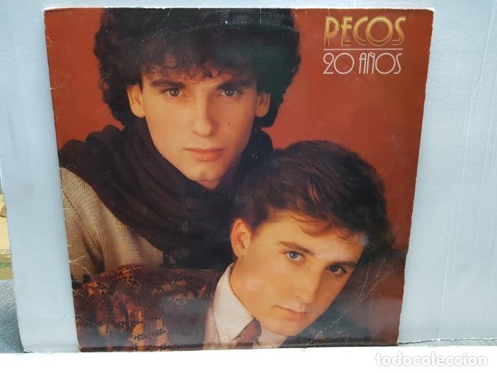 LP-PECOS - 20 AÑOS EN FUNDA ORIGINAL 1981 (Música - Discos - LP Vinilo - Grupos Españoles de los 70 y 80)