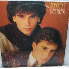 Discos de vinilo: LP-PECOS - 20 AÑOS EN FUNDA ORIGINAL 1981. Lote 182774437