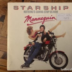 Discos de vinilo: STARSHIP (2) – NOTHING'S GONNA STOP US NOW SELLO: GRUNT (3) – FB49757 FORMATO: VINYL, 7 . Lote 182775298