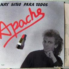 Discos de vinilo: DISCOS PERDIDOS.APACHE.HAY SITIO PARA TODOS (POP-ROCK JAEN)..MUY DIFICIL..A ESTRENAR.COMPARA PRECIOS. Lote 232208335