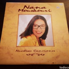 Discos de vinilo: NANA MOUSKOURI. NUESTRAS CANCIONES. 2 LP. Lote 182778945