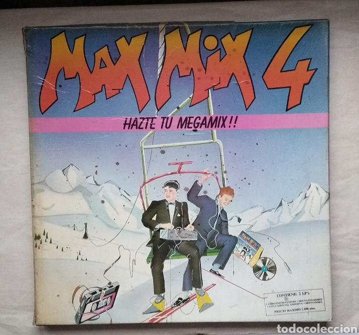 LOTE DE MAX-MIX 4 Y MAX-MIX 10,,,4 LPS (Música - Discos - LP Vinilo - Rap / Hip Hop)