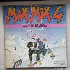 Discos de vinilo: LOTE DE MAX-MIX 4 Y MAX-MIX 10,,,4 LPS. Lote 182779652